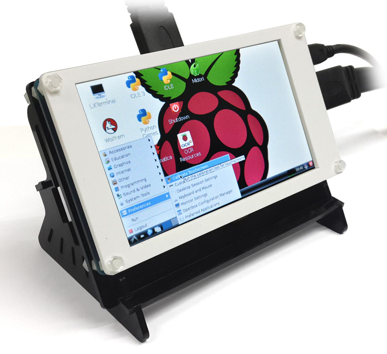 5 Inch 480 *800 HDMI Input Touch Screen for Raspberry PI 3 2B B+ and Banana  Pro/Pi Beaglebone Black