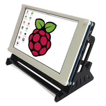 7 0 inch 800x480 Hdmi touch with USB touch Display Support Raspberry  pi/Banana Pi-Pro/Beaglebone bone(version1 4)