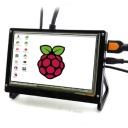 7.0 Inch 1024x600 Pixel IPS Hdmi Input Capacitive Touch Screen Support Raspberry pi/Banana Pi-Pro/Beaglebone black(Version1.2)