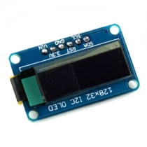 0.91 I2C IIC Serial 128x32 OLED Module for Arduino