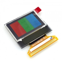 0.96 RGB *64  SPI Serial OLED 65K Colorful Graphic Display Module