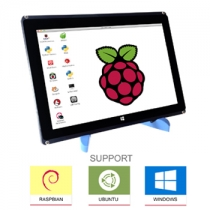 10.1 Inch 1280x800 Pixel IPS Hdmi Input Capacitive Touch Screen Support Raspberry pi/Banana Pi-Pro/Beaglebone black