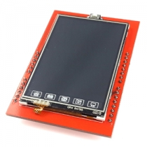 UNO R3 2.4 TFT Touch Screen with SD Card Socket for Arduino Board Module