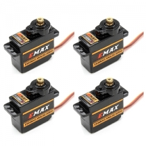 4Pcs Emax ES08MAII High speed Mini Metal Gear Digital Servo