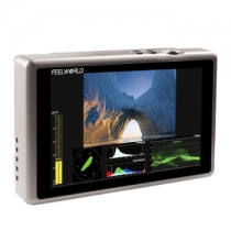 5.5 inch Aluminum Design IPS 1920x1080 Full HD HDMI 3G-SDI On-camera Monitor with Waveform, VectorScope, Histogram(G55)