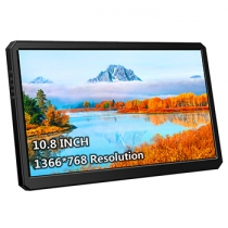 10.8 Inch IPS 1366*768 USB-C With PD Fast Charge Portable Monitor (M108B)