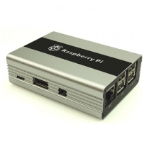 Raspberry Pi 3 / Raspberry Pi 2 /Raspberry Pi B+ Aluminum Alloy Case With Heatsinks(Silver)