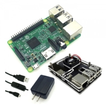 Raspberry Pi 3 model B 5 in one Starter Kit