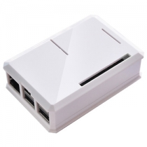 The Prue White ABS Enclosure Case for Raspberry Pi 3 B+,Pi 3, Pi 2 and B+