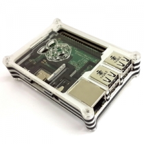 Black/white Acrylic Case for Raspberry pi 3 model B and Raspberry pi 2 model B  Development Board