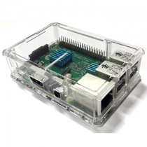 Raspberry Pi 3 B+,Pi 3, Pi 2 and B+ Clear Case