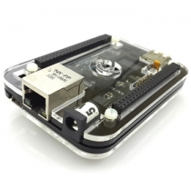 Black acrylic case for Beaglebone black