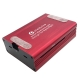 Raspberry Pi 3,Pi 2, B+ Aluminum Case With Fan(Red)