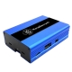 Raspberry Pi 3,Pi 2, B+ Aluminum Case With Fan(Blue)