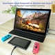 15.6 Inch IPS 1920*1080 USB-C With PD Fast Charge Portable Touch Monitor (T156D)